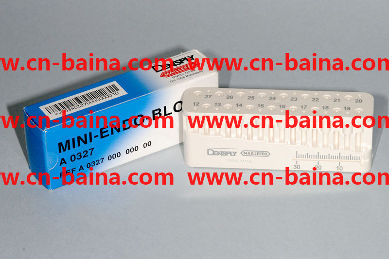 densply maillefer mini endo bloc mg A0327easurin