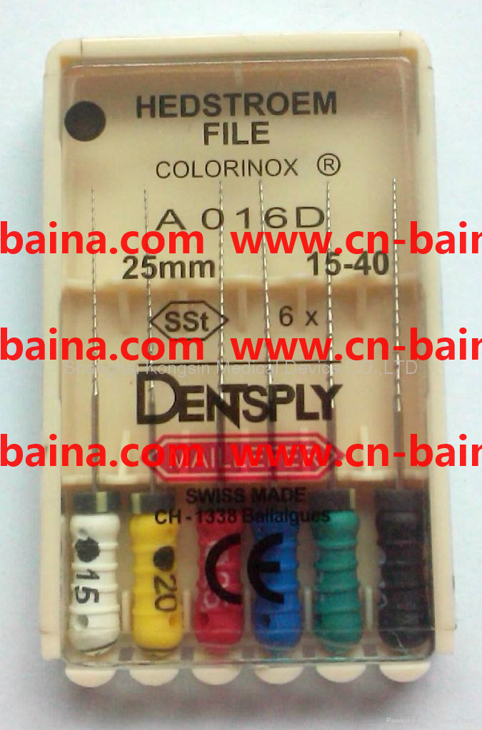 densply endo maillefer colorinox hedstroem file H
