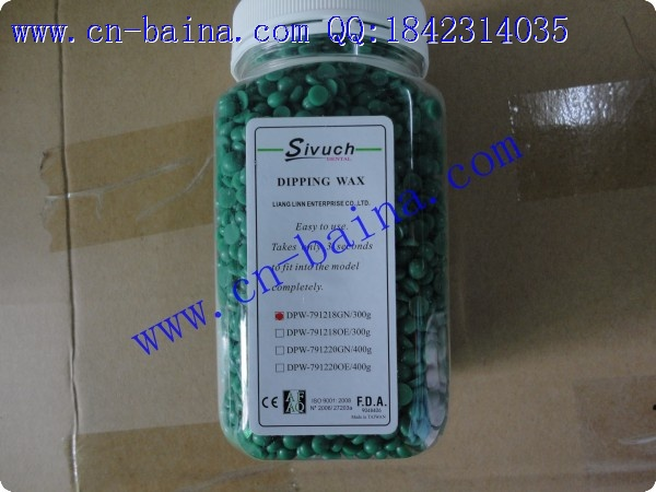 SIVUCH dipping wax round shape 300g green